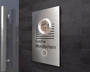 Edelstahl Video Türsprechanlage : t rklingeln von nano tec design t rsprechanlage mit kamera von sony 7 ~ Sanjose-hotels-ca.com Haus und Dekorationen