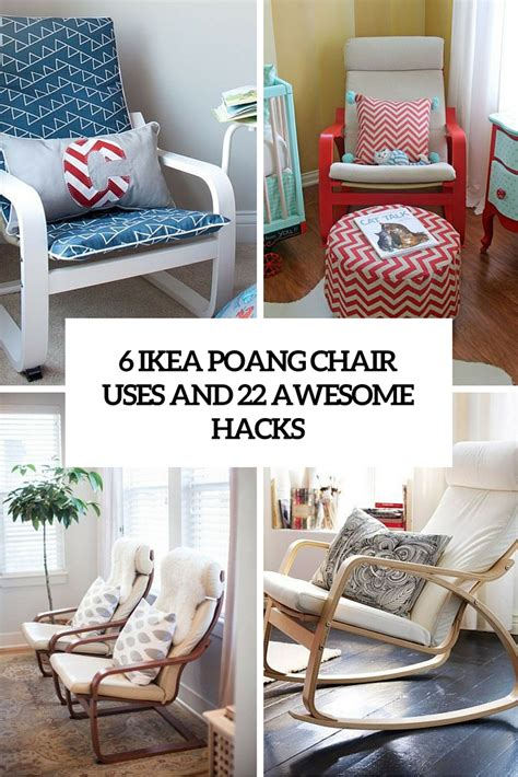 ikea poang chair    awesome hacks digsdigs