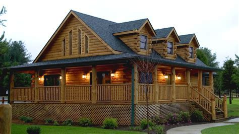 Log Home Design Plan and Kits for Oak Ridge
