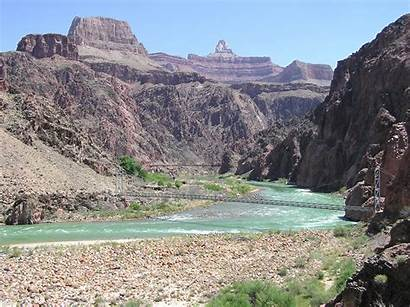River Trail Canyon Grand Colorado Bridge Arizona