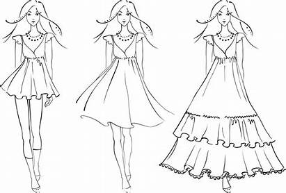 Coloring Pages Woman Sketch Skater Sisters Figure