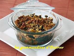 Recette Crumble Salé : recette de crumble sal aux poivrons tomates basilic et ~ Melissatoandfro.com Idées de Décoration