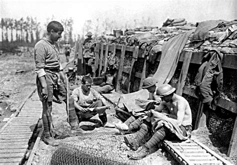 Iff A Wwi Trench On The Canadian Front Showing Funk