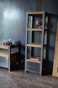 Etagere Style Industrielle : etagere style industriel ~ Teatrodelosmanantiales.com Idées de Décoration