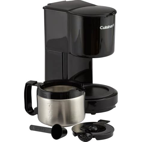 A stainless steel coffee maker is a brewing device from entirely or almost entirely stainless steel. 4 Cup Black/Stainless Steel Coffee Maker, with Thermal Carafe | eBay