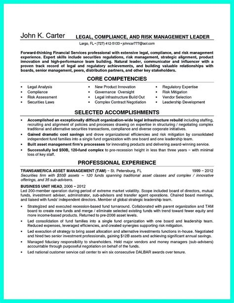 Regulatory Compliance Resume by Pin On Resume Sle Template And Format