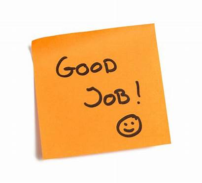 Job Positive Feedback Compliments Note Career