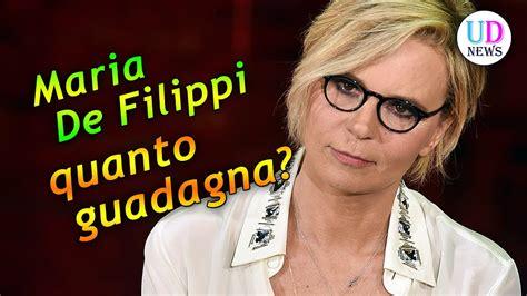 E' lei la vera star delle reti mediaset, regina indiscussa in termini di ascolti e popolarità: Maria De Filippi quanto guadagna? - YouTube
