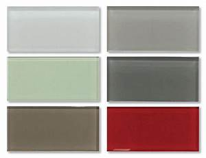 3x6 Glass Subway Tiles Sample Combo Pack - Variety Colors ...