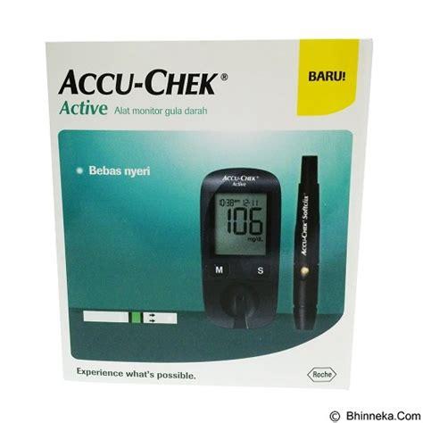 Accu Check Alat Monitor Gula Darah jual alat ukur kadar gula accu chek active meter kit