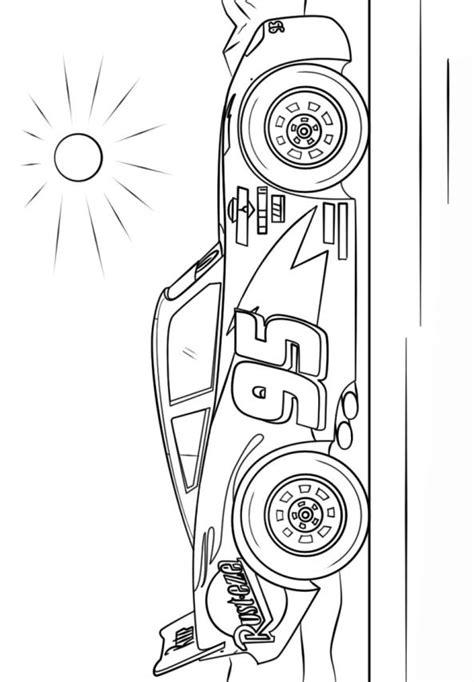 Kleurplaat Cars 3 by N 11 Kleurplaten Cars 3