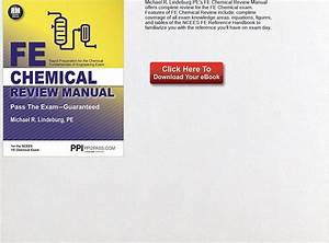 Download Ebook Fe Chemical Review Manual Pdf  Text  Images