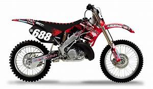 Honda 250 Cr : 2000 2001 honda cr 125 250 solitaire motocross graphics dirt bike graphics kit ebay ~ Dallasstarsshop.com Idées de Décoration