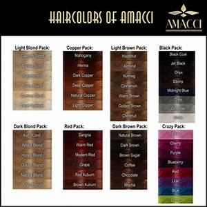 Second Life Marketplace - Amacci - Hair Color Chart
