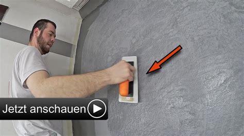 Betonoptik Wand Selber Machen by Die Besten 25 Spachteltechnik Ideen Auf