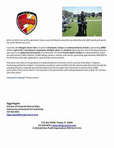 sponsor and donation letter updated With youth football donation request letter