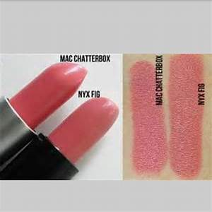 NYX Fig- dupe for Mac chatterbox | Dupes | Pinterest | Ps ...