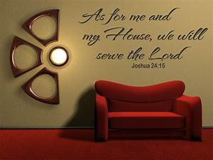 as for me vinyl wall art quote inspirational decal sticker With bible verses wall decals inspiration