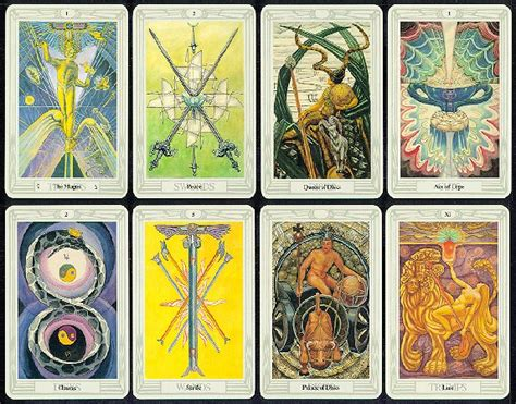 medium crowley agmuller swiss thoth tarot cards deck only language ebay