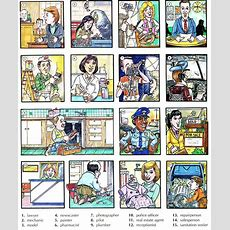 Professions Jobs And Occupations Vocabulary With Pictures (2