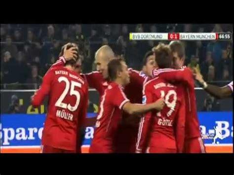 اهداف مباراة بايرن ميونخ وبروسيا دورتموند 30 الدوري