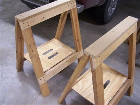 folding sawhorses  medsker  lumberjockscom