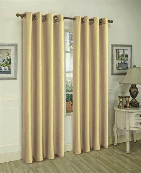 gold panels semi sheer grommet window curtain  wx
