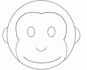 cake designs picmia With monkey face template for cake