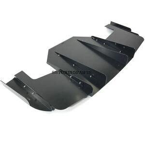 bmw e36 m3 rear bumper diffuser for all e36 performance bumper tuning ebay