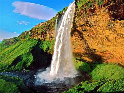 Seljalandsfoss Waterfall Iceland  World For Travel