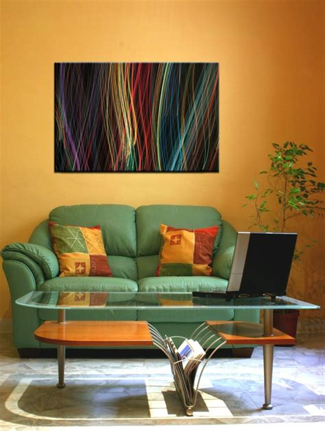 sofa verde para salon pinturas para sal 243 n ideas de combinaciones modernas