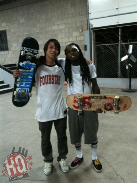 lil wayne skating  pictures part