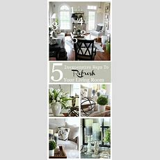 5 Inexpensive Ways To Refresh Your Living Room Living