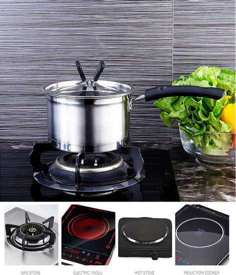 pots pans stainless steel