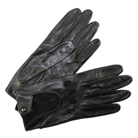 batterie cuisine en gants de conduite femme cuir noir glove tous les gants