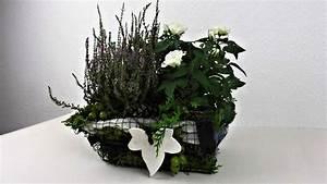 Winterdeko Selber Machen : grabschmuck f r herbst und winter selber machen deko ideen mit flora shop youtube ~ Whattoseeinmadrid.com Haus und Dekorationen
