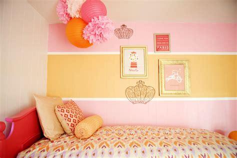 pink and orange bedrooms nurseries and parties we love this week