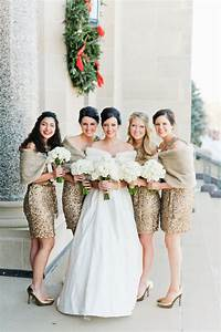 top 4 bridesmaid dresses trends your maids will love in With short winter wedding dresses