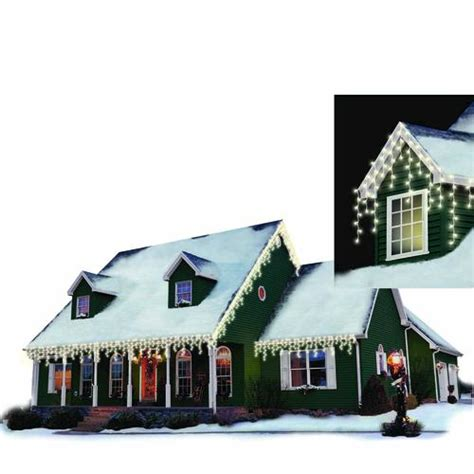 philips 150 light icicle led christmas light set at menards 174