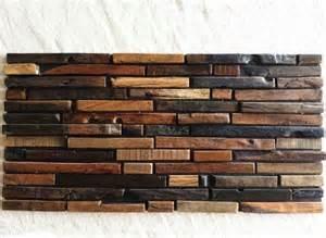 rustic kitchen backsplash tile wood mosaic tile rustic wood wall tiles nwmt009 kitchen backsplash wood panel wood