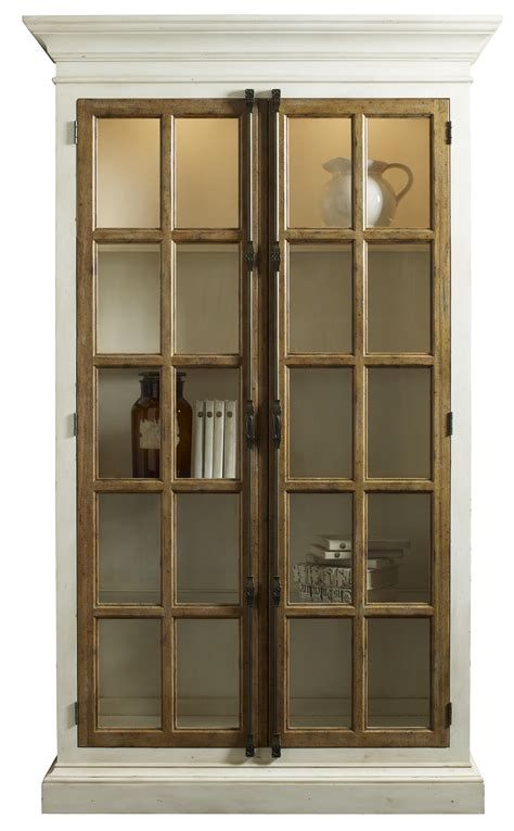 glass curio cabinet curio cabinet w 8 wood framed glass shelves by