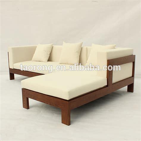 canapé lit bois traditional wooden sofa set designs