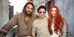 Jason Momoa James Wan Get Hyped To Start The Aquaman