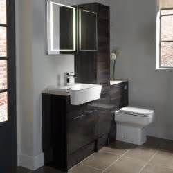 fitted bathroom furniture ideas vetro cinder fitted bathroom furniture roper
