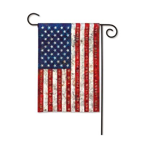 Patriotic Garden Flags by Patriotic Garden Flag Pledge Of Allegiance