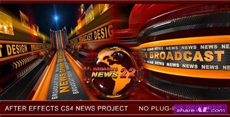 broadcast design news opener   effects