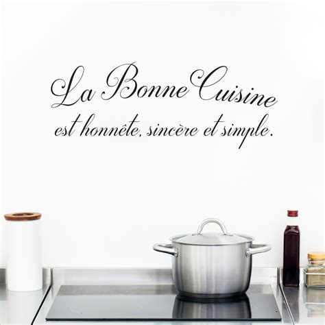 citation cuisine sticker citation cuisine la bonne cuisine stickers