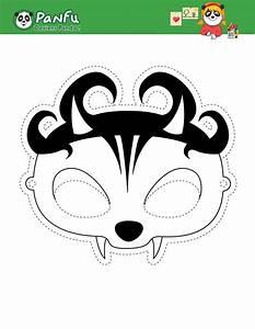 Masque Halloween A Fabriquer : activit s manuelles le masque de pandhalloween vampire ~ Melissatoandfro.com Idées de Décoration