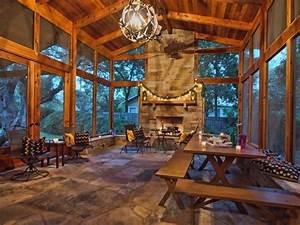 Porch - Rustic - Porch - Austin - by kr kohlhaas design