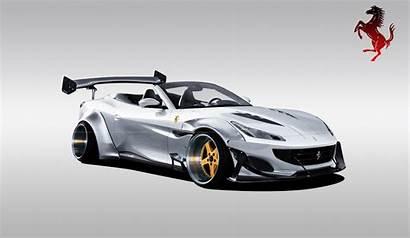 Ferrari Portofino Widebody Render Ipotizzata Versione Clubalfa